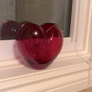 3 for 15 Heart shape flower vase